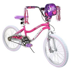 How I think our butterfly sees her bike