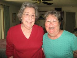 Aunt Wease and my Mama.....love ya dears!