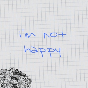 pic of i'm not happy
