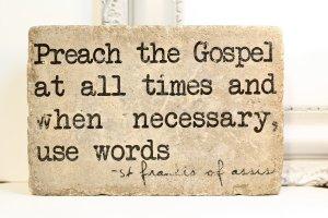 pic saint francis quote