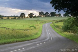 pic of country road