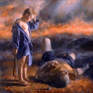 David and Goliath by Arsen Kurbanov