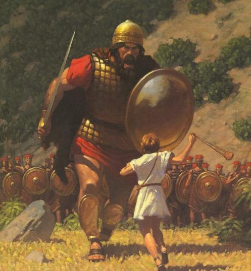 David und Goliath�nu...