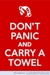 Happy Towel Day!