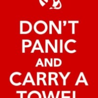 Towel Day is Tomorrow-Do You Have Your Towel Ready?
