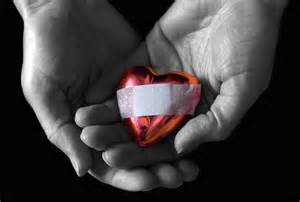 pic of heart with bandaid
