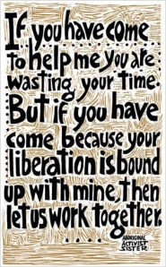pic of liberation quote