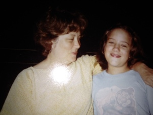 My Mama and me, just a few years ago