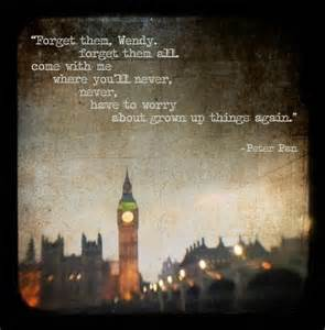 pic of peter pan quote