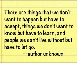 pic of things quote