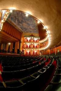 The Grand Opera House in Macon, where I have spent many a happy time with my crew.