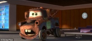 Mater the Tow Truck is all about getting it done.
