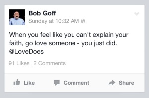 pic of goff quote go love someone