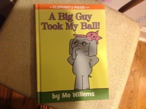 A new book by one of our favorites, Mo Willems.