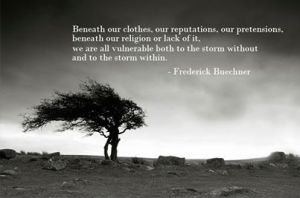pic of buechner quote