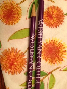 Our new pencils.  Our Princess is so excited because she is already ready to go there--Golden Heart of 2027!