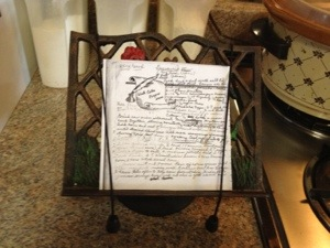 My Granny's recipes for Brunswick stew--the real one AND the fake one.....but both are real good!