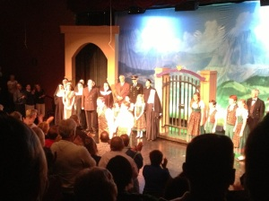 "The talented cast of Theatre Macon's ""Sound of Music"" takes a bow"