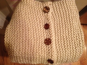 The cowl I've been working on whenever I had a few minutes for the past few weeks.