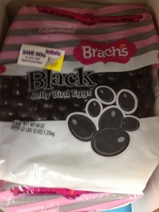 Black jelly beans.  They were Daddy's favorites.