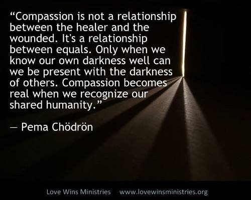 Pema Chodron Quotes Fascinating Picofchodronquoteaboutcompassion 500×399  The Good In