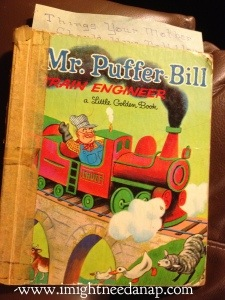 My very favorite book when I was little.