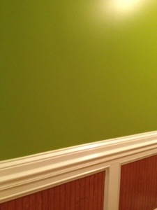 The green in our foyer.  I love this color.