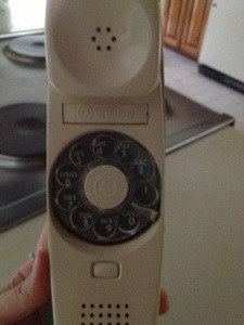 The updated model from the wall rotary dial.