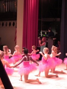 Our sweet dance school director encourages her students to let their true colors shine through always.  What a powerful song.