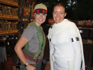 Padme and Boba Fett.  Our paths may never cross again but they are forever in my heart and I am thankful for them.