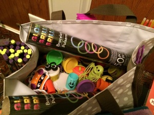 The Halloween treat bag.....
