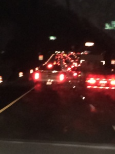 On the way home from Atlanta.  The interstate became a parking lot.