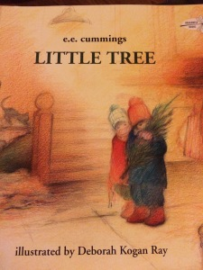 http://www.amazon.com/Little-Tree-Dragonfly-Books-Cummings/dp/0517881780/ref=sr_1_2?ie=UTF8&qid=1418789870&sr=8-2&keywords=little+tree