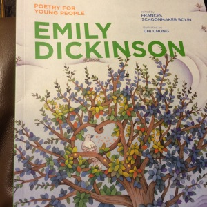 This lovely illustrated book of Emily Dickinson's poetry can be ordered at your local bookstore or purchased here.