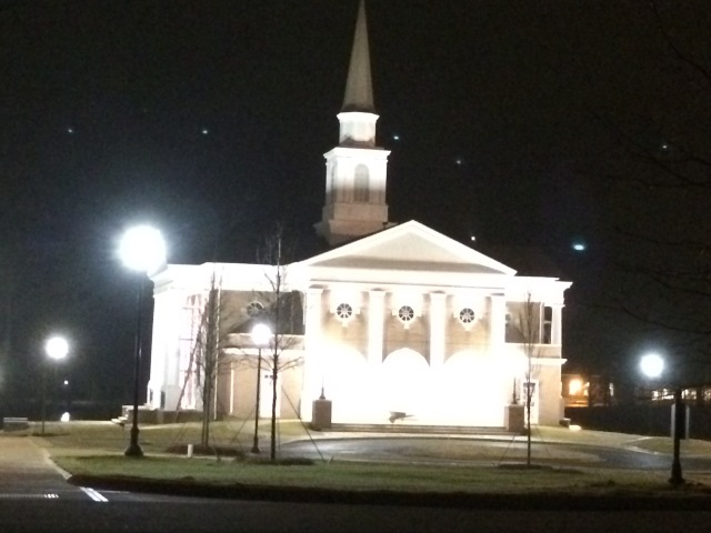 "Pierce Chapel shining brightly when Cooter and I attended ""Ain't I a Woman"" two weeks ago."