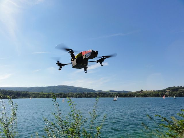 Parrot AR Drone via Wikimedia Commons