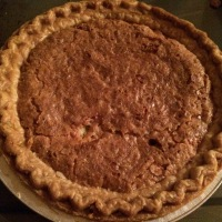 Mock Pecan Pie and Making Do