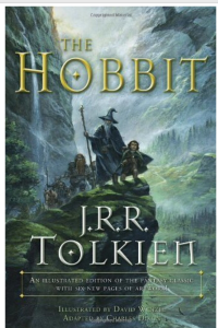 The version of The Hobbit we found for Cooter to read.  He really enjoyed it.
